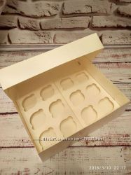 Упаковка для капкейков коробки для капкейков