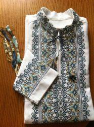 Схема узор рисунок заготовка Мужская вышиванка Чоловіча вишиванка сорочка
