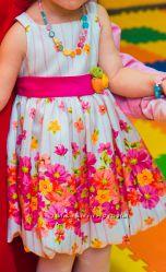 Нарядное платье American Princess р. 3Т, повязка в подарок