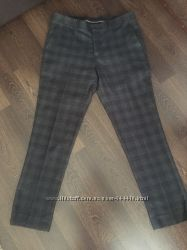 Фирменные мужские брюки клетку клеточку