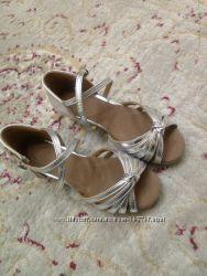 Туфли для бальных танцев, новые, 21, 5см