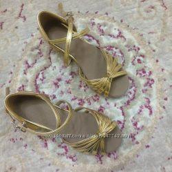 Туфли для бальных танцев, новые, 19, 5см