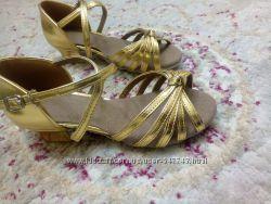 Туфли для бальных танцев, новые, 18см