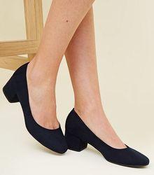 Модные туфли New Look, размер UK 4/37, маломерят