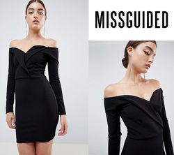 Обворожительное платье с открытыми плечами missguided uk8seu36
