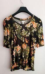 Очень красивая футболка, кофта H&M , xs-s