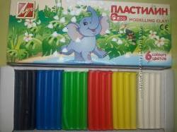 Пластилин ТМ Луч Классика, zoo, Фантазия 6, 8, 10, 12 цветов