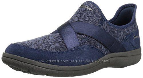 Женские туфли, лоферы, макасины Skechers р. 39 стелька 26см