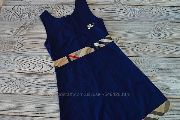 Стильное классическое платье Burberry на рост 116