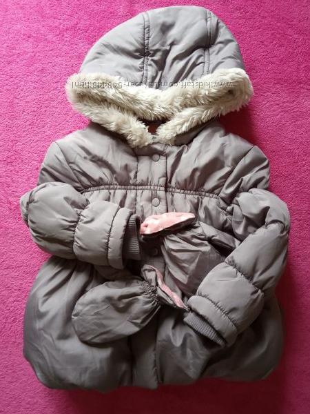 Куртка теплая  George 1-1, 5г. 81-86 и куртка-дождевик CareTec -116 на флис
