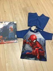 Marvel пляжный костюм футболка и шорты плавки 86-92 см