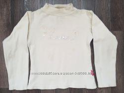 Водолазка - блузочка утеплённая для девочек