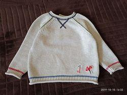 Классный свитер Next 9-12  в идеале
