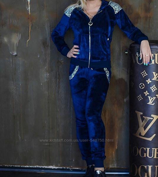 Женский костюм Турция велюр от 44 до 58р 2 цвета