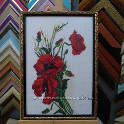 Рамка для вышивки, икон, картин, фото, зеркал под заказ, багет 61