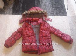 Красивая теплая зимняя курточка Lupilu