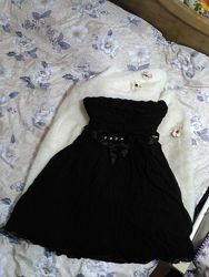 Роскошное  черное платье от Karen Millen. Натуральный шелк.