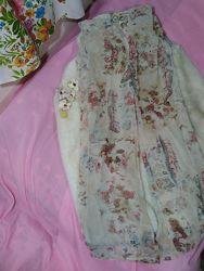 Французский шик-шелковые брючки на завязках, топ и накидка от  Cocomenthe.