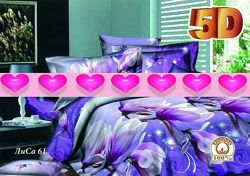 Хлопковые постельки в 5 D дизайне от Тиротекс. Выбор. Наличие.