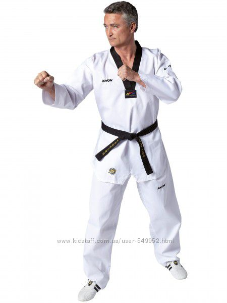 Форма KWON Victory Uniform Dan для тхэквондо WTF рост 160-200см