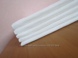 полотенца вафельные, белые 35х45 плотные