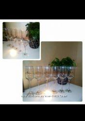 Бокалы для шампанского, вина