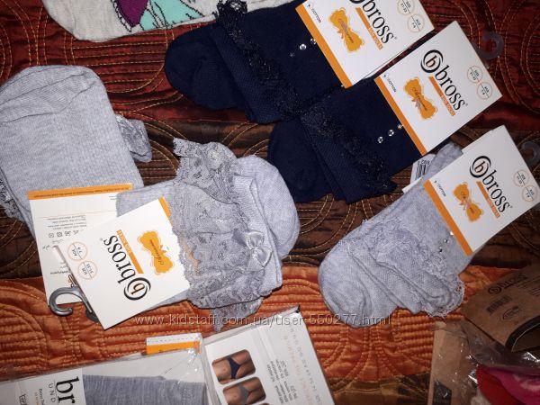 Носочки и гольфы Bross Турция , нарядные и не только