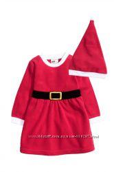Новогоднее платье для девочки H&M