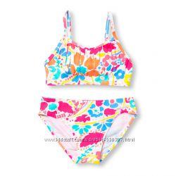 Раздельные купальники для девочки, солнцезащитная ткань, 155-159см, 3 расцв