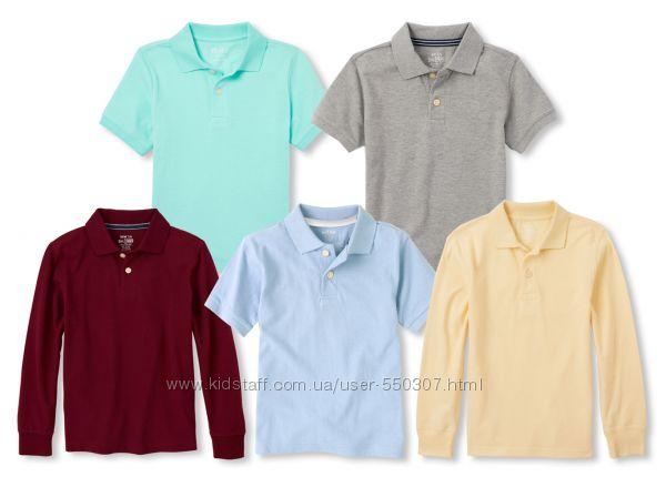 Школьное поло для мальчика, школьная форма, футболка поло для мальчика