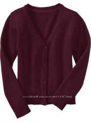 Бордовый школьный кардиган- идеальная замена пиджаку