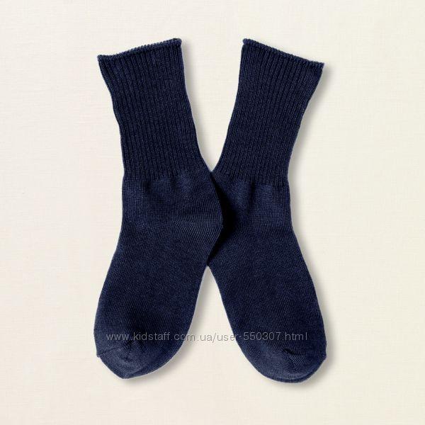 Носки белые, серые, синие, черные для мальчиков и девочек