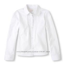 Школьные блузы рубашки 104-159см ассортимент