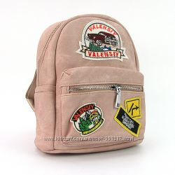 Рюкзак - сумка малая кожзам молодежная Valensiy цвета