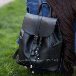Рюкзак-сумка натуральная кожа женская цвета