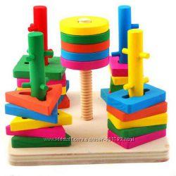 Деревянная игрушка Ключики  Рыбалка