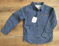 Новая Рубашка на 5-6 лет Zara Boys