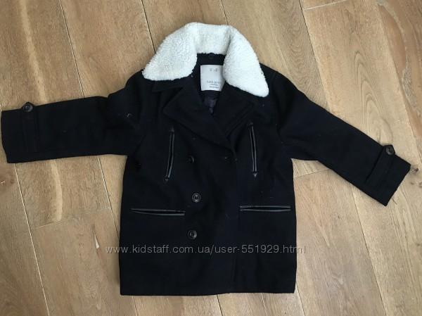 Пальто демисезонное Zara boys на 6 лет