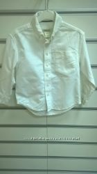 Новая  рубашку для мальчика с длинным рукавом Cherokee белого цвета