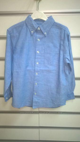 Продаю рубашку для мальчика в с длинным рукавом Cherokee 5-14 лет голубую