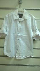 Продам  рубашку в школу  с длинным рукавом  белого цвета ТМ DCBD  8-20 лет