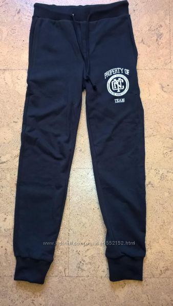 Новые брюки спортивные на мальчиков темно-синего  цвета  NYC