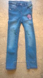 Новые джинсы на девочку 2-14 лет