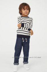 Модные джинсы джогеры на мальчика H&M