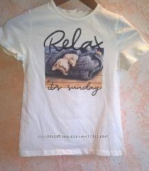 Новые модные футболки для девочек Calliope 6-14 лет