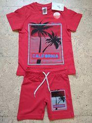 Новые летние костюмы наборы для мальчиков Palomino 86-140 cм