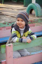 Жилет Outventure и джемпер для мальчика