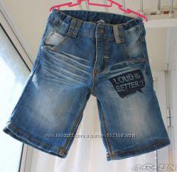 Шорты джинсовые мальчику 3-5лет
