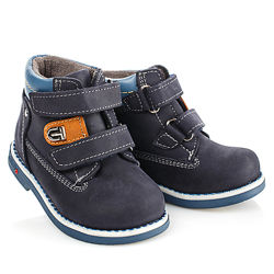 Стильные ботинки на байке на мальчика Турция Артикул 18498