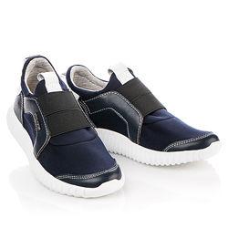 Стильные кроссовки из кожи Palaris Артикул 34206